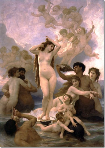 william-adolphe-bouguereau-el-nacimiento-de-venus-1879