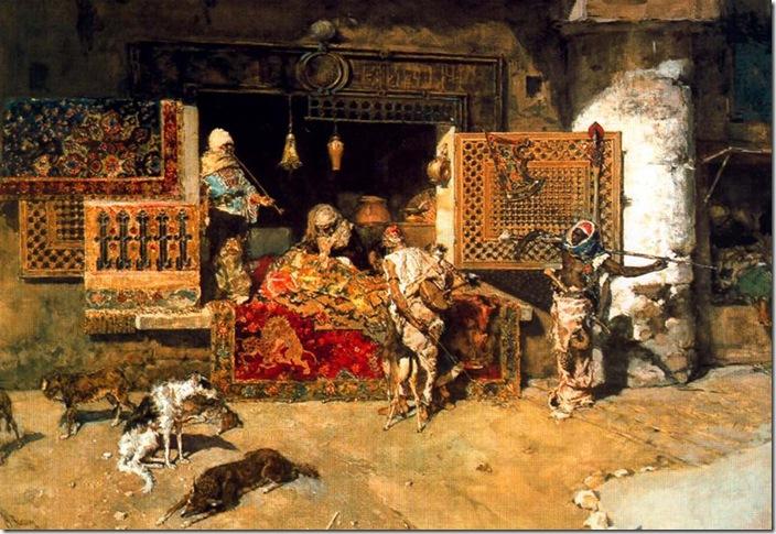 Fortuny - el vendedor de tapices