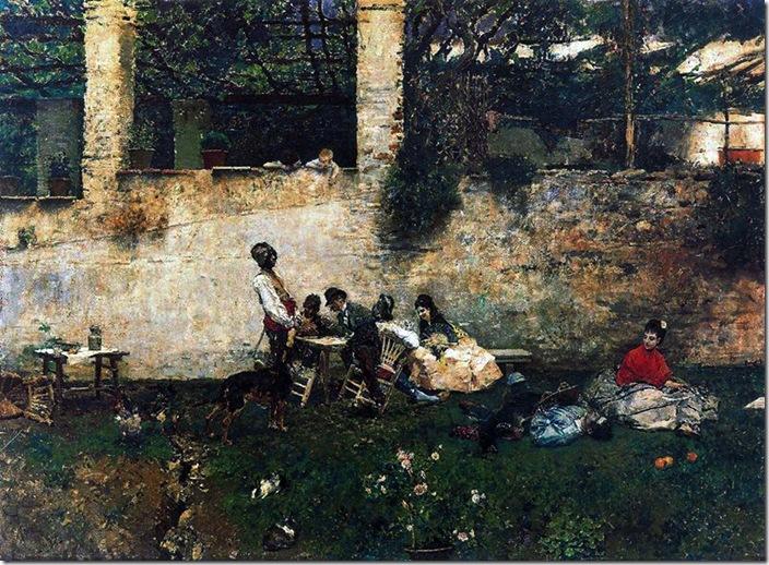 Fortuny - desalluno en la Alambra