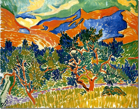 derain Mountains at Collioure (1905)