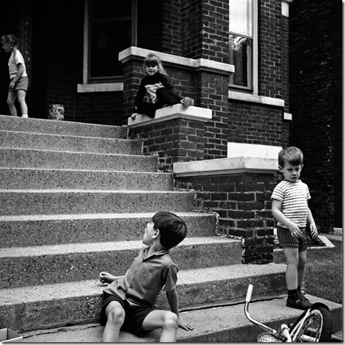 Vivian Maier - steps