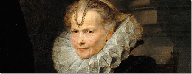 Retrato de una dama Genovesa, Anton van Dyck