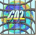 greenhouse gas - CO2 graphic