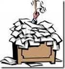 buried in paperwork