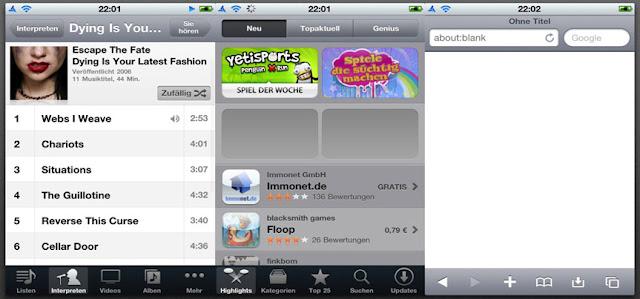 Sleek UI iPhone,themes