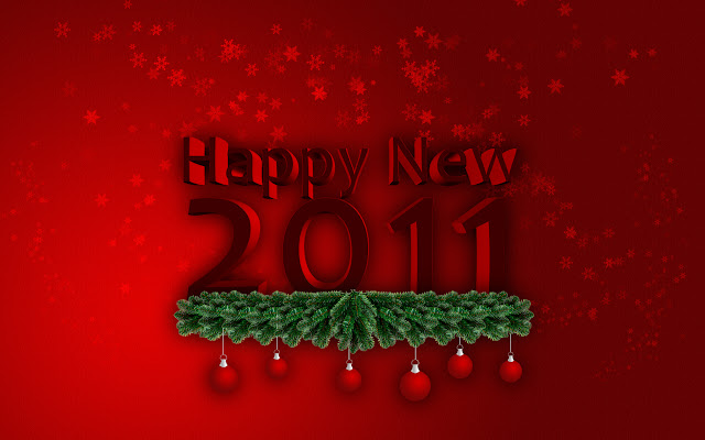 Happy new year 2011 [Wallpapers]
