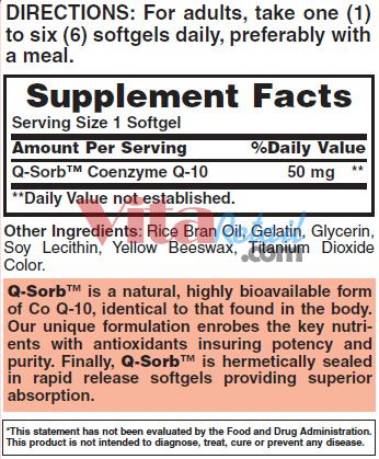 Coenzyme Q10 50 mg