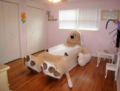 Funny-Bed-Design-for-Kids-l-Dog-Bed