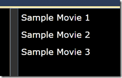 Movie Player Design Data