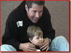 David Goldman y su hijo Sean - foto MSNBC