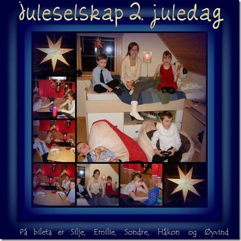 Picnik collage juleselskap