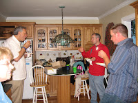 Gathering together in Mary's Kitchen - Mary. Kelly, Wilson, Dave