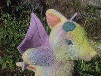 Jehosophat the Rainbow Dragon - Friend of Fairies