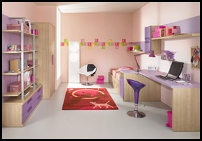 Study-room-with-Contemporary-Violet-Interior-Design-Ideas-inspirartion