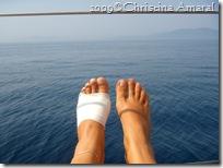 meu pé esquerdo