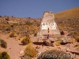 Ponto mais Alto que passamos na Cordilheira do lado argentino