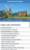 Screenshot of Best Norfolk Cottages