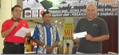 Kamaluddin Yusof, Winner of Giant Kulai Hypermarket Chess Open 2010