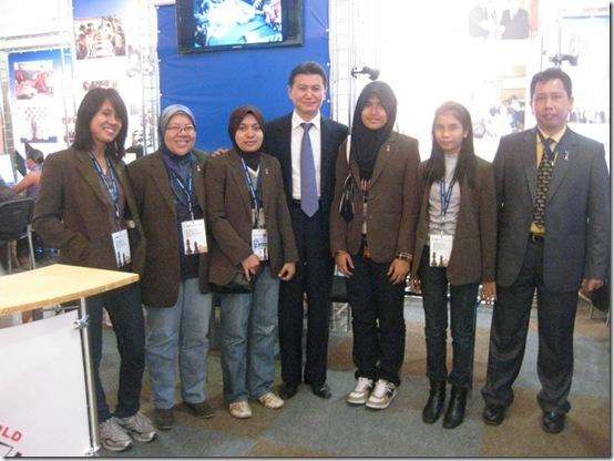 Malaysia's Ladies Team 2010 at Olympiad Khanty-Mansyisk