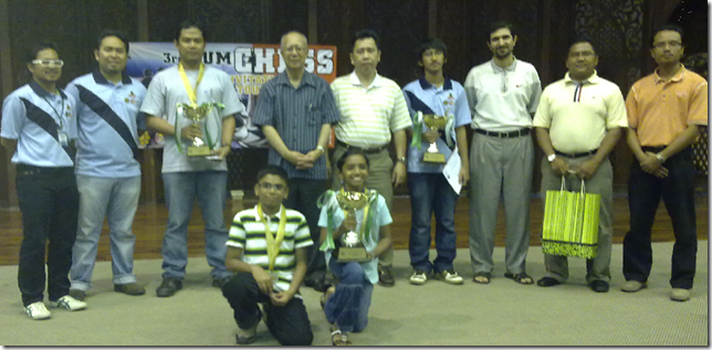 Category Champions with Rector of UIA, Prof Syed Arabi