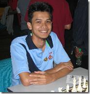 Nik Ahmad Farouqi Nik Mat, third Open