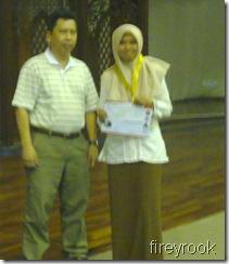 Nurul Najmi Bakar, Best Lady