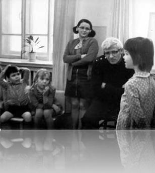 В детском саду Лев Рахлис