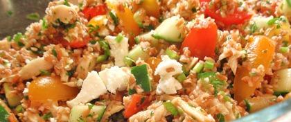 Chicken Feta Tabbouleh