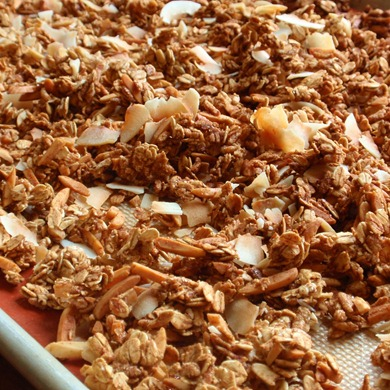 coconut and almond granola 4