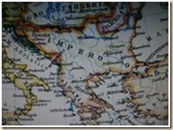 Harta e Shqipërisë ku askund nuk figuron emri Greqi!
