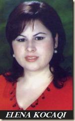 l'autrice del libro, elena kocaqi