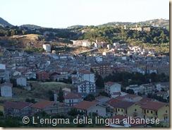 Panoramica di Piana degli Albanesi