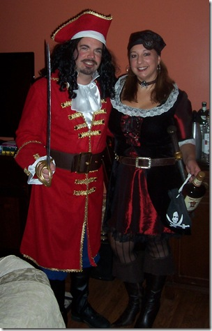 Captain Morgan And His Wench