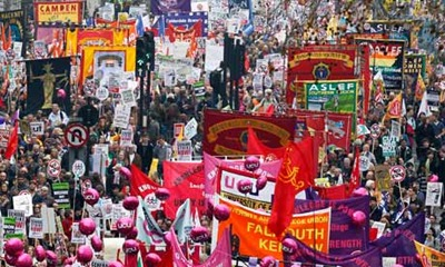 The-anti-cuts-march