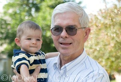 Grandmpa Don and Scott