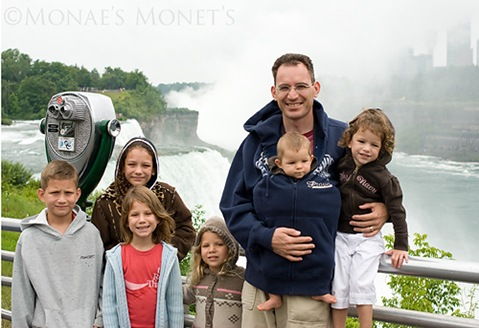 Niagara Falls family picture blog