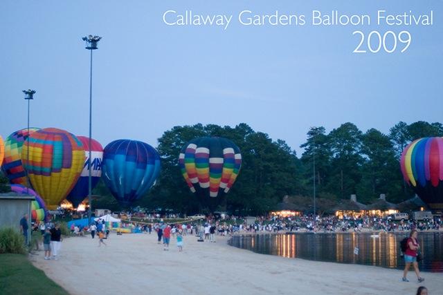 callaway gardens balloon festival 2009