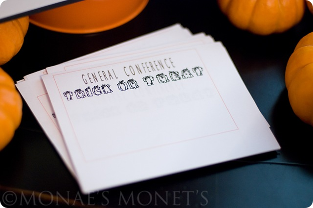 trick or treat papers blog