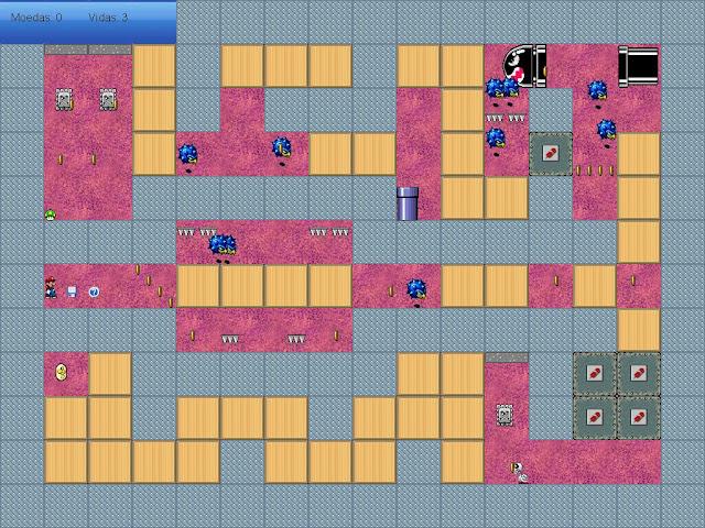 ''Super Mario Maze 1.0.1(bugs retirados)'' 1