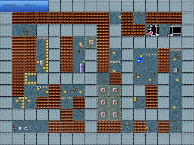 ''Super Mario Maze 1.0.1(bugs retirados)'' 2