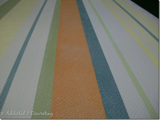 hand painted floor cloth 15