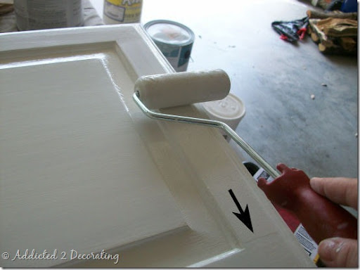 More Painting Tips (Painting Cabinet Doors)