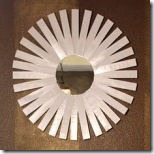 sunburst mirror from sweet something design