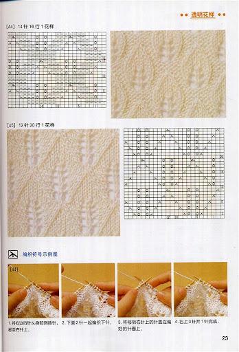 【转载】新编棒针花样编织法