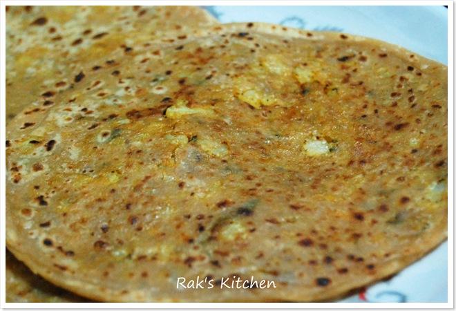 GOBI PARATHA RECIPE | Rak's Kitchen