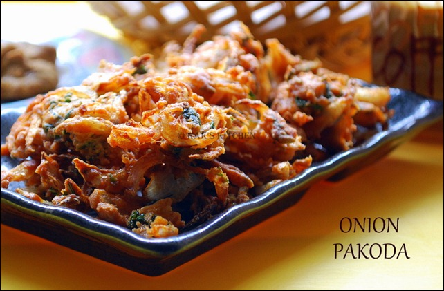 Onion pakoda