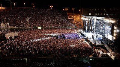 Concerto Ligabue Messina Stadio San Filippo 24 luglio 2010
