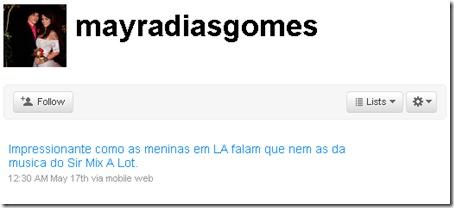 Mayra Twitter