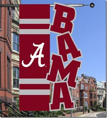Bama football flag