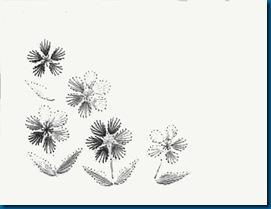 цветочки схема